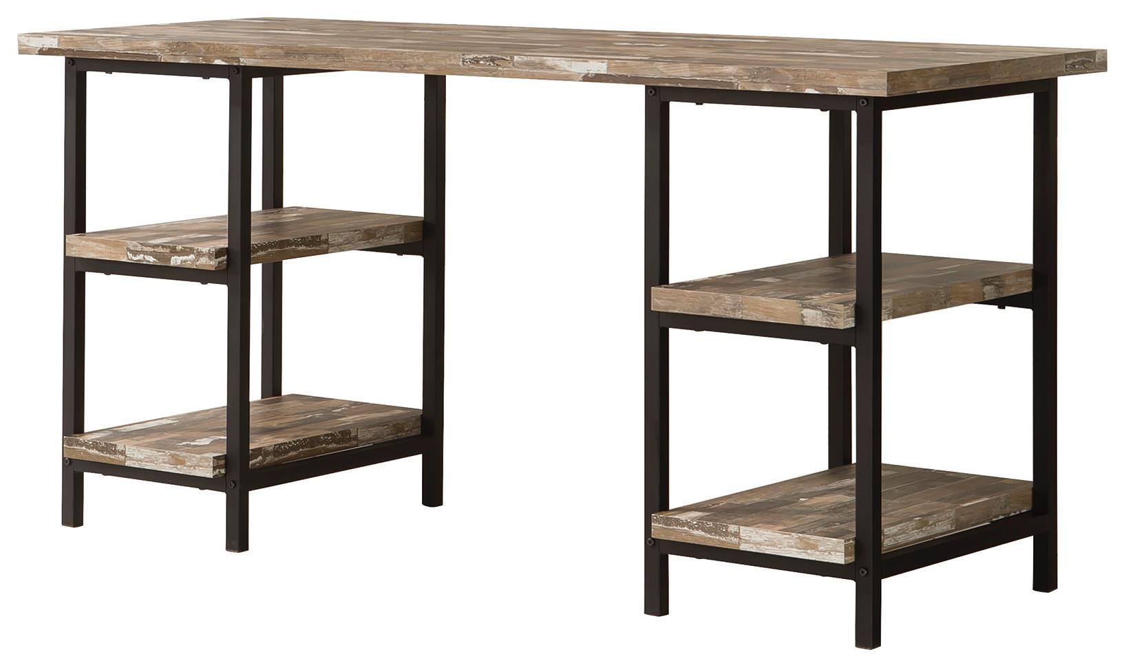Coaster Skelton 801551 Modern Rustic Writing Desk with