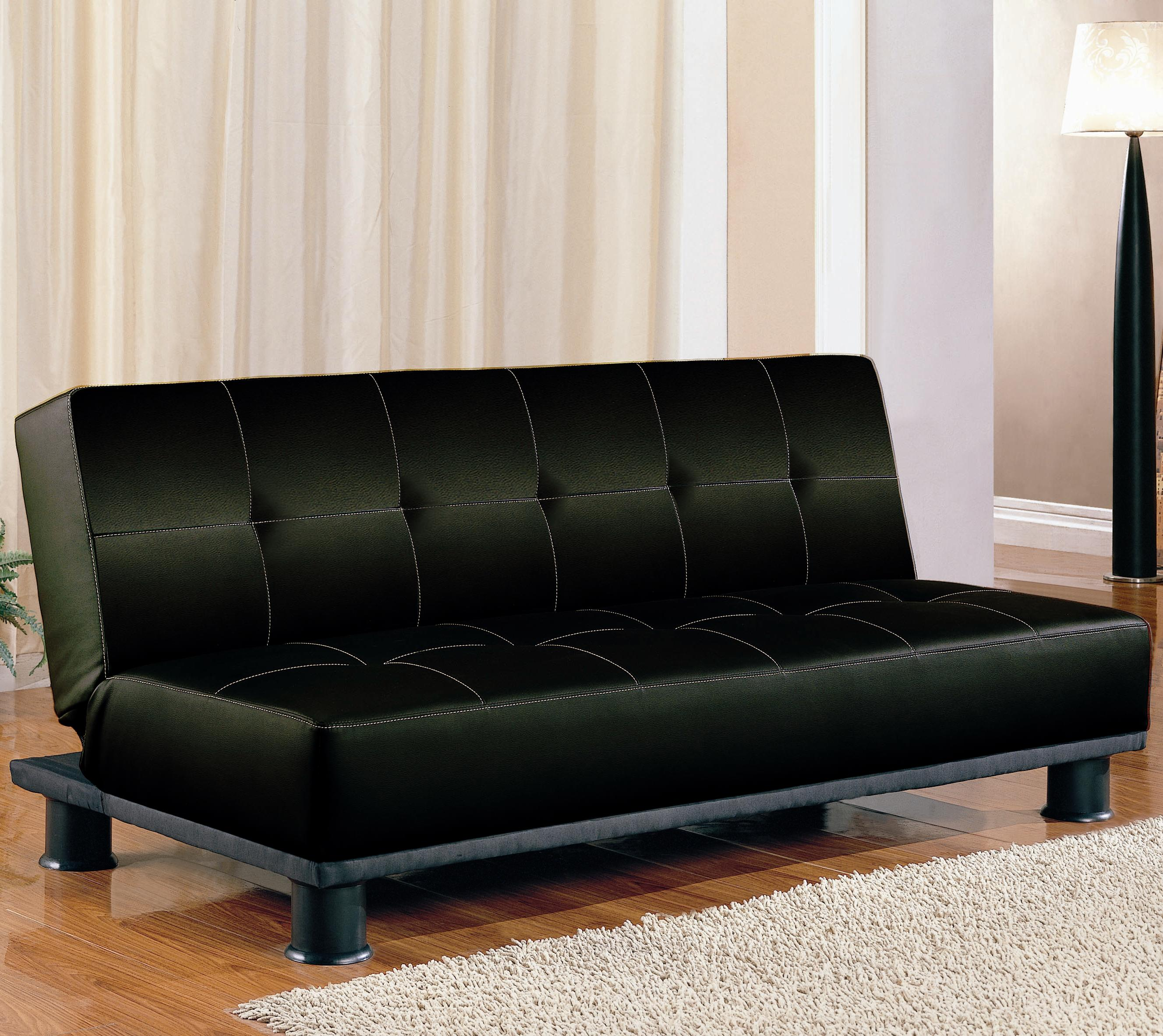 Coaster Sofa Beds And Futons Contemporary Armless Convertible Sofa Bed Value City Furniture Futons