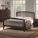 Coaster Tia Queen Headboard Footboard Bed With Tapered Legs A1 Furniture Mattress Panel Beds