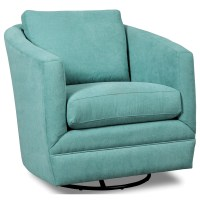 Craftmaster Accent Chairs Swivel Barrel Chair | Belfort ...