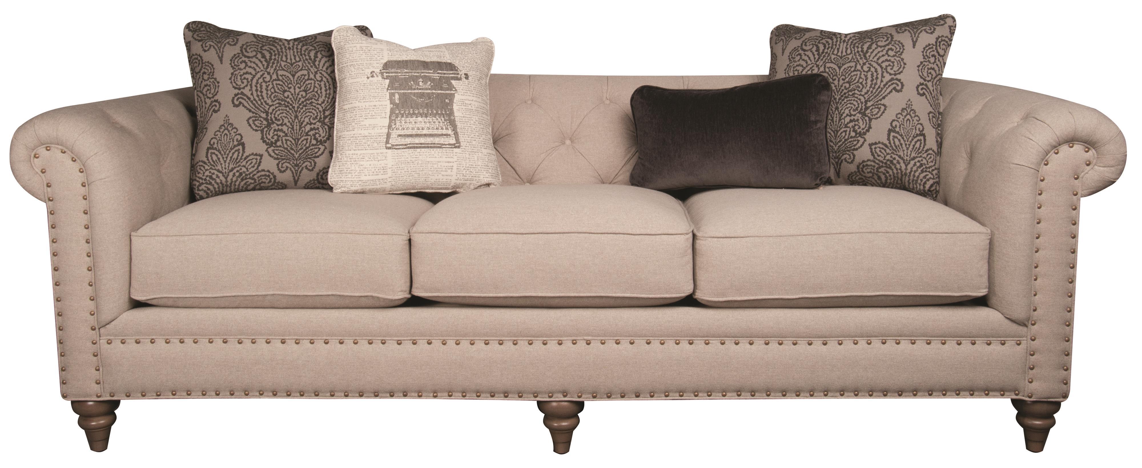 Main  Madison Humphrey Classic Modern Long Sofa with