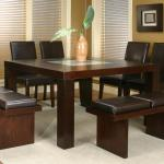 Cramco Inc Contemporary Design Kemper 25310 64 61 Square Pub Table With Frosted Glass Insert Corner Furniture Pub Tables