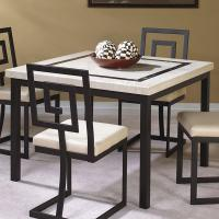 Cramco, Inc Maze Square Leg Table | Value City Furniture ...