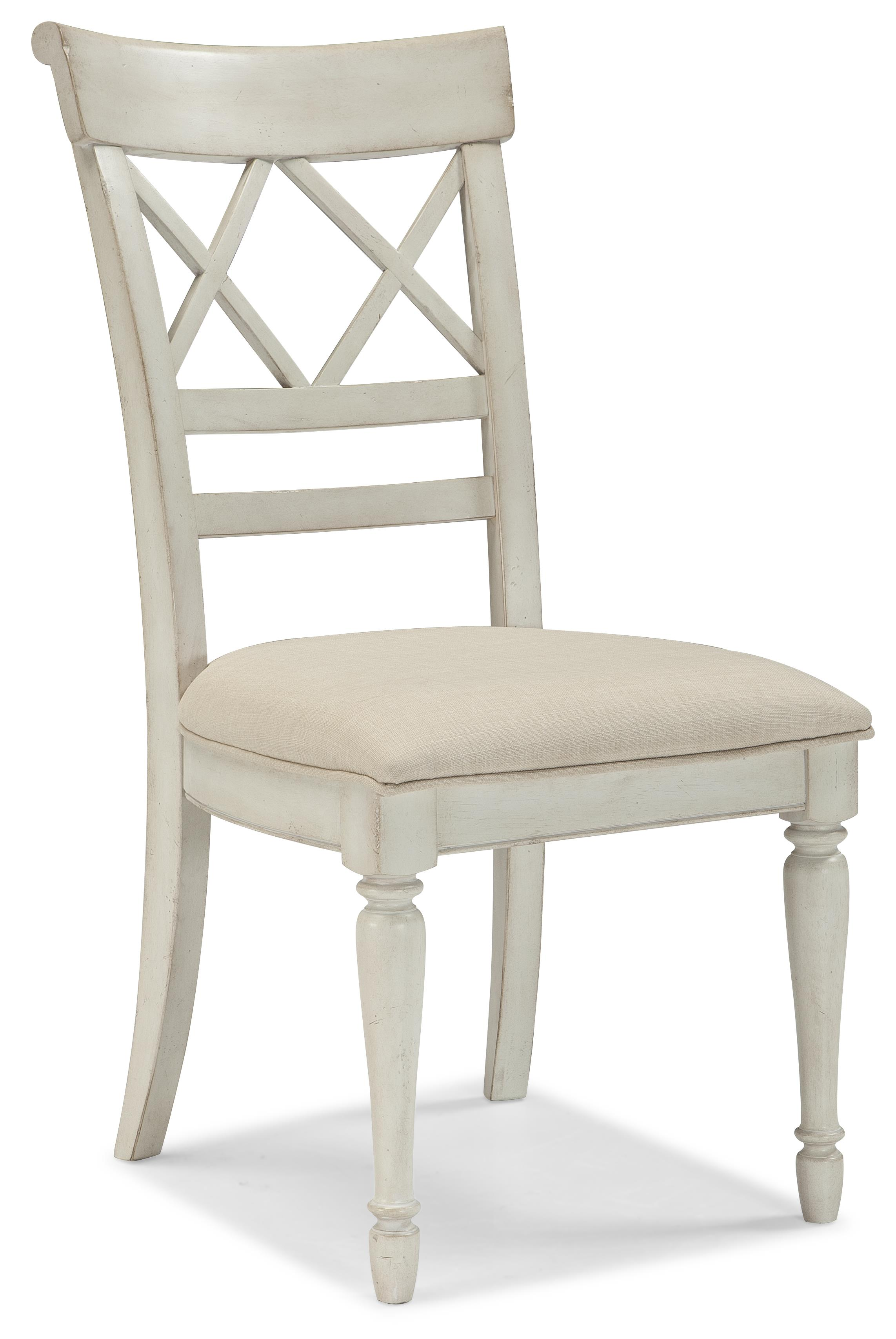 Antique White Dining Chairs Cottage Cottage Dining Chair W Upholstered Seat By Cresent Fine Furniture At Belfort Furniture