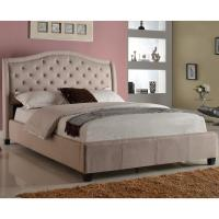 Crown Mark Addison Upholstered Queen Bed with Tufted ...