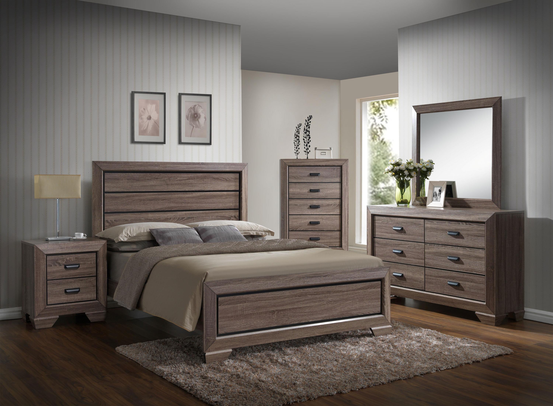 Crown Mark Farrow Queen Bedroom Group  Wayside Furniture