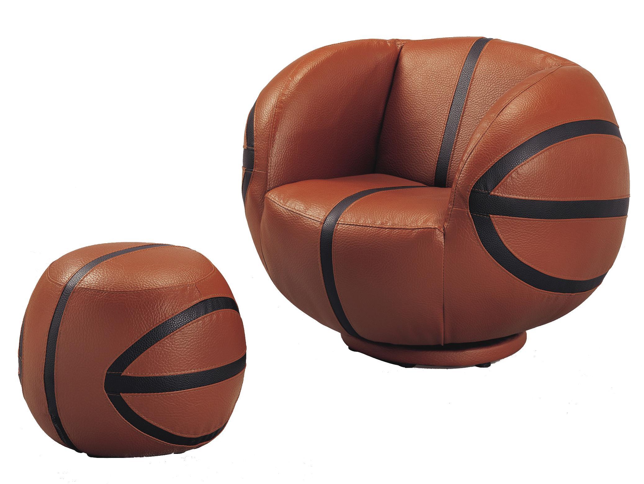 Crown Mark Kids Sport Chairs 7002 Basketball Swivel Chair