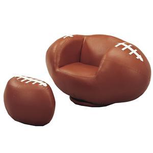 kids sports chairs wheelchair umbrella belfort essentials sport football swivel chair ottoman furniture