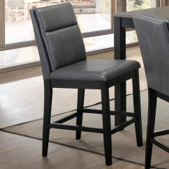 Upholstered Counter Height Chairs Duet Rollator Transport Chair Crown Mark Lismore 2712s Gy Gray