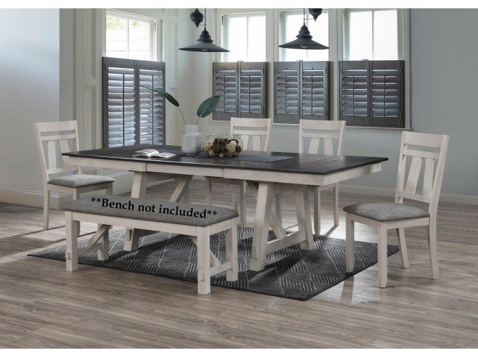 Crown Mark Maribelle 5 Piece Table And Chair Set Wayside Furniture Dining 5 Piece Sets