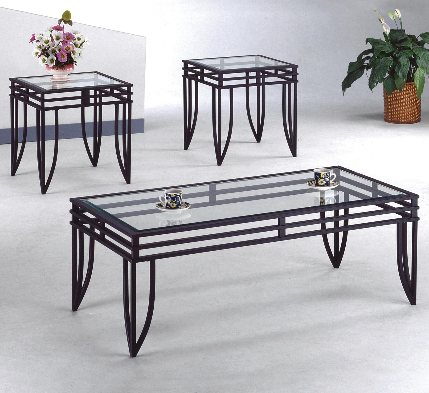 3 piece table set for living room f furniture crown mark matrix cocktail and end tables miskelly occasional group