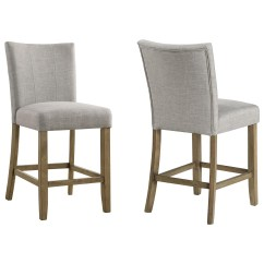 Upholstered Counter Height Chairs Comfy Lounge For Bedroom Crown Mark Mike Chair Royal Furniture