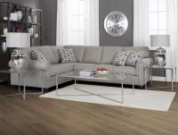 Decor-Rest 2006 Sectional Sectional Sofa Group with Rolled ...