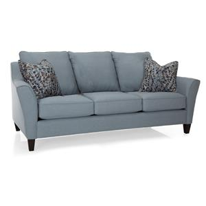 pier 1 sofa quality beds full size decor rest 2342 series contemporary with attached pillow back stoney creek furniture sofas