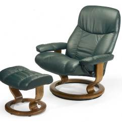 Reclining Chair With Ottoman Leather Craftsman Rocking Styles Stressless Consul 1020015 Large Classic Base
