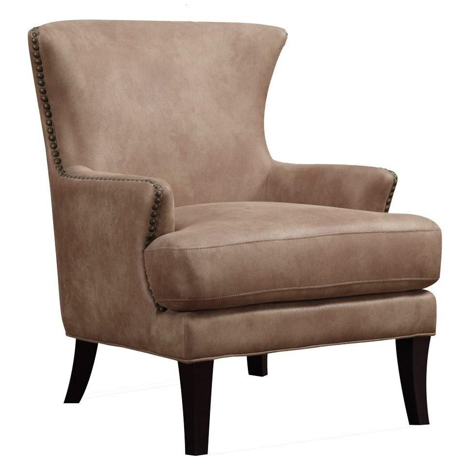 Emerald Nola U3566P0509 Accent Chair Dixon with Nailhead