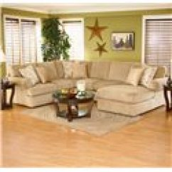 Abbie Right Chaise Sectional Sofa With Large Cushions By England Tempurpedic Bed Review ...
