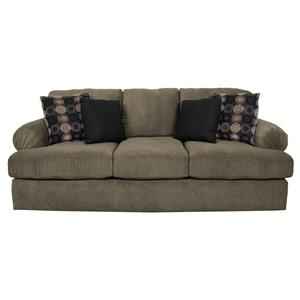 abbie right chaise sectional sofa with large cushions by england european set left ...