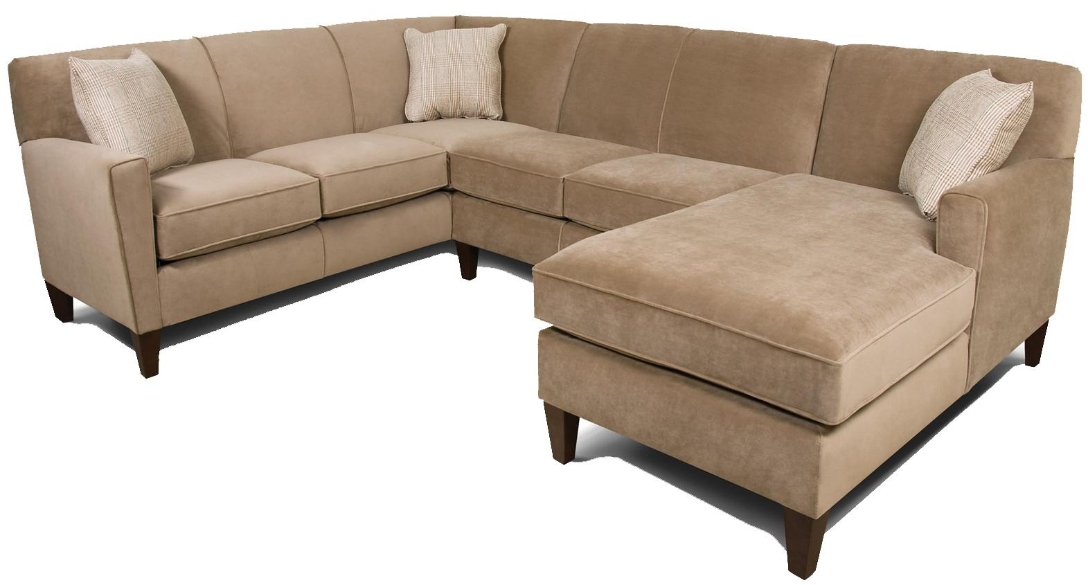 England Sectional Sofa England Collegedale Contemporary 3