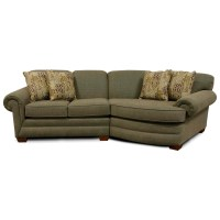 England Monroe Small Sectional Sofa | Boulevard Home ...