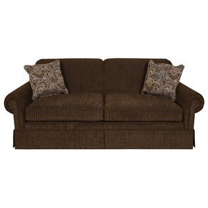 lane benson queen sleeper sofa z materacem sprezynowym sofas | orland park, chicago, il store darvin ...