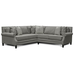 palmer sofa katisha platinum 5 piece sectional with left chaise 7l00 by england reid s furniture dealer 2