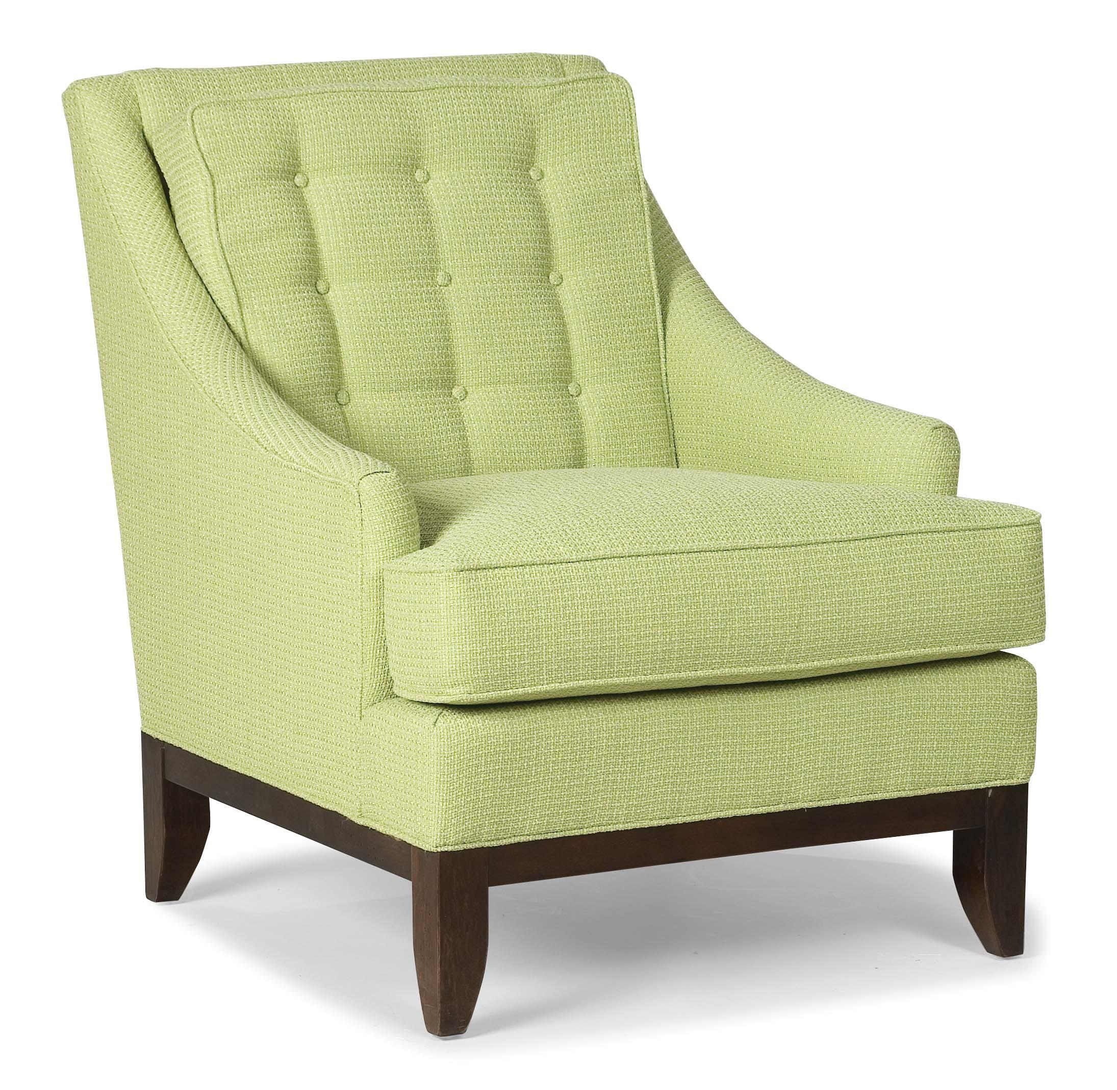 Fairfield Chairs Chairs Upholstered Accent Chair With Button Tufting By Fairfield At Howell Furniture