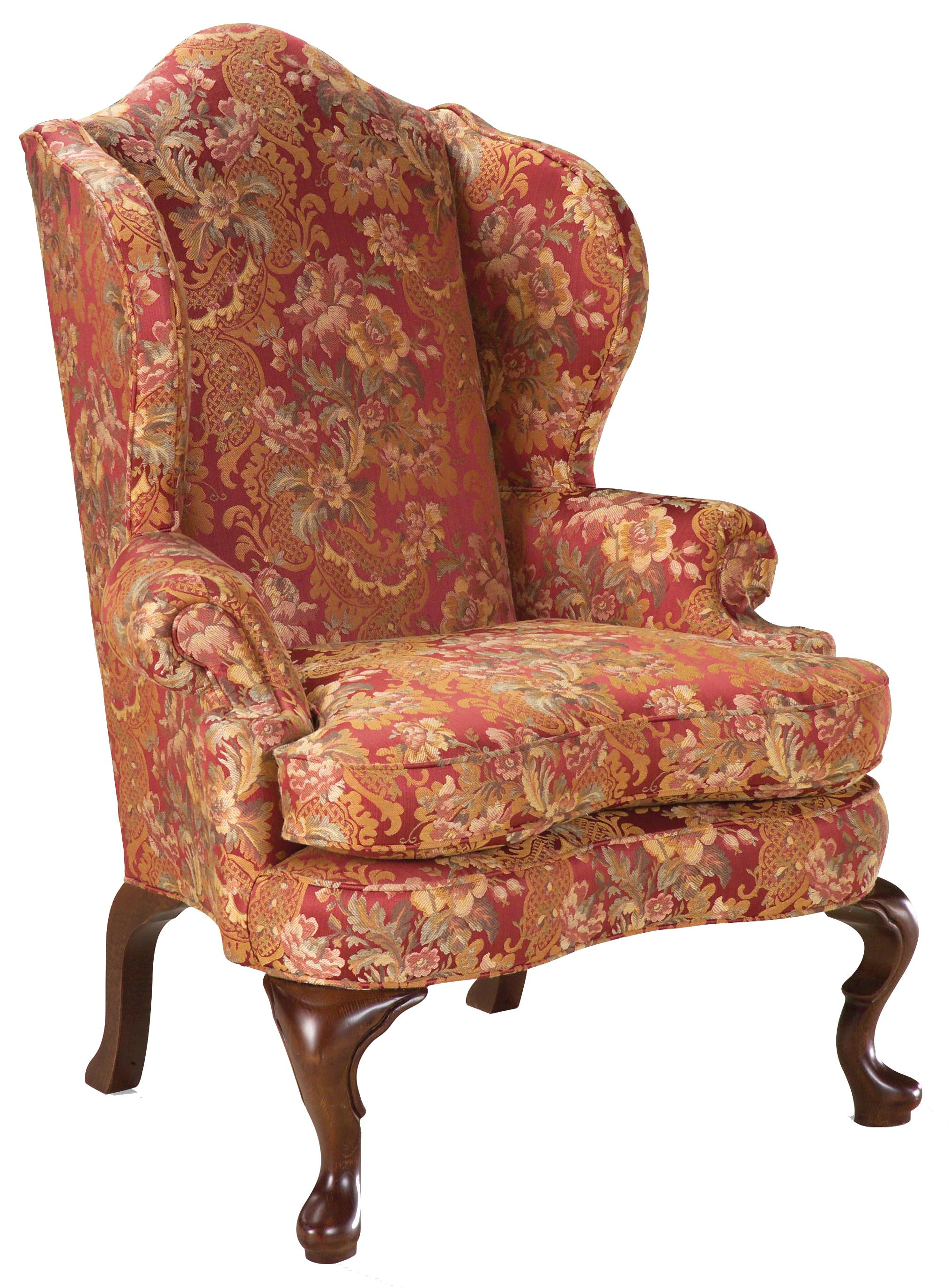 Fairfield Chairs Chairs High Back Wing Chair In The Traditional Style By Fairfield At Howell Furniture