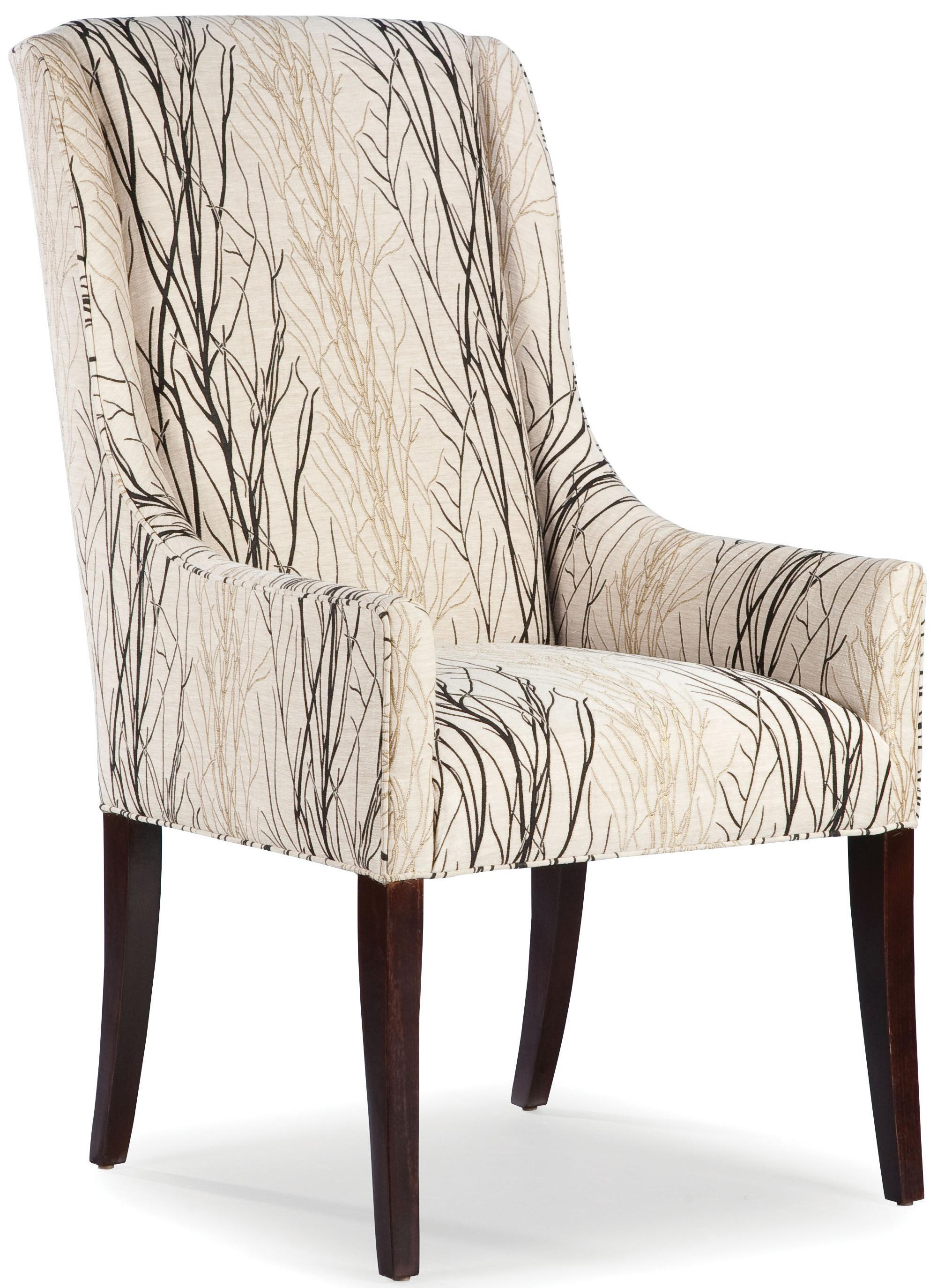 Fairfield Chairs Chairs Upholstered Tight Back Occasional Arm Chair By Fairfield At Howell Furniture