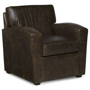 chair and a half rocker with ottoman covers for chairs without arms fairfield traditional exposed-wood round back casters | story & lee ...