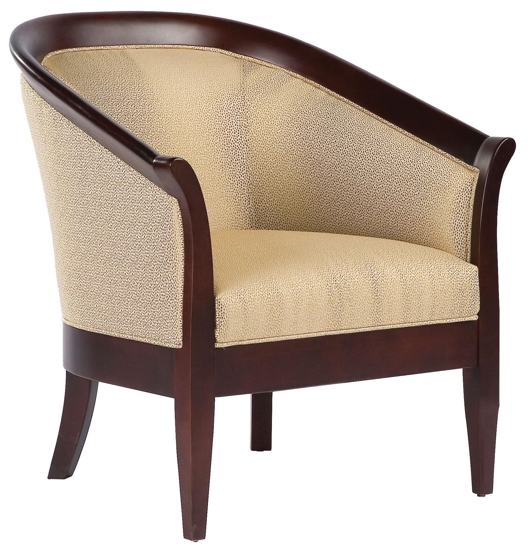 Fairfield Chairs Fairfield Chairs High Arm Wrap Around Accent Chair Belfort
