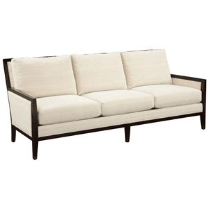 accent sofa leather loveseat bed fairfield accents curved conversation with traditional contemporary styled exposed wood