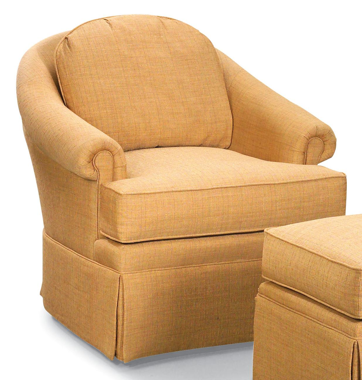 Fairfield Chairs Fairfield Swivel Accent Chairs Swivel Barrel Chair With Rolled