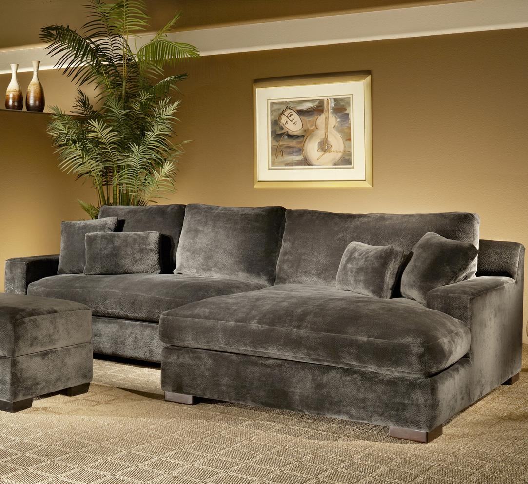 Fairmont Designs Billie Jean 2 Piece Sectional W Chaise Dream Home Furniture Sofa Sectional