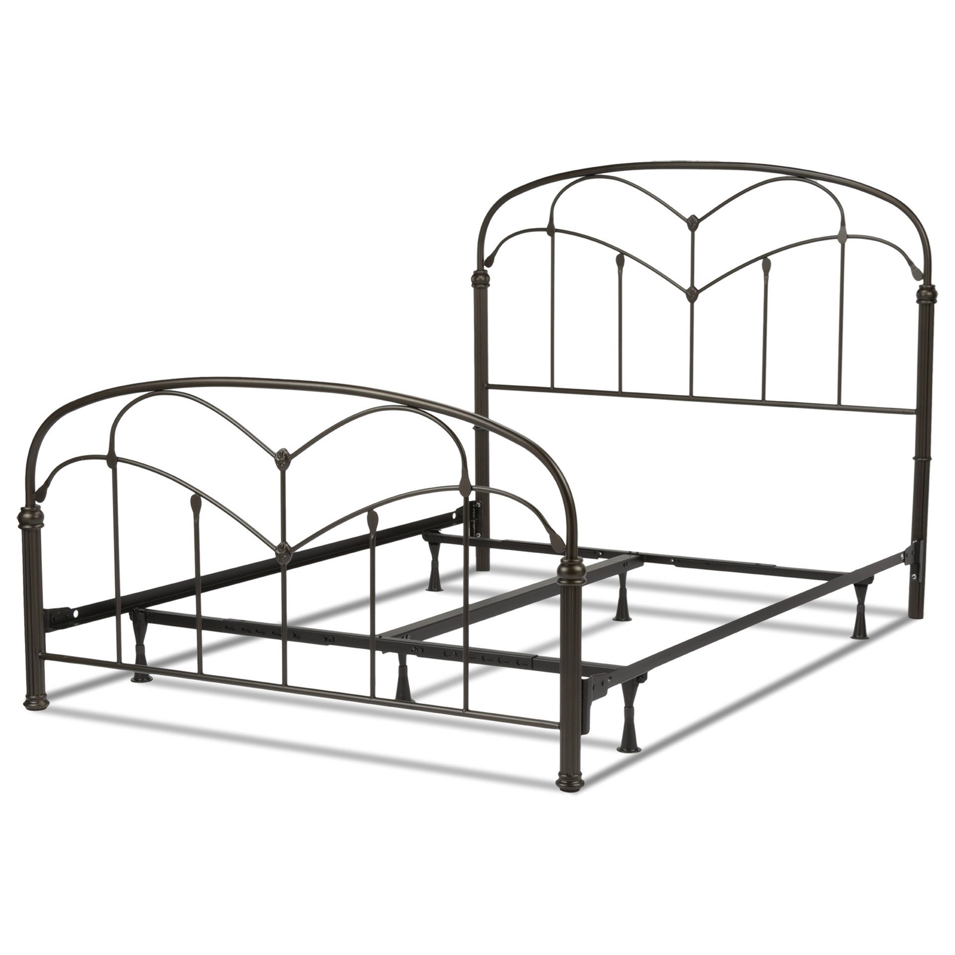 Fashion Bed Group Metal Beds Queen Pomona Bed W Frame