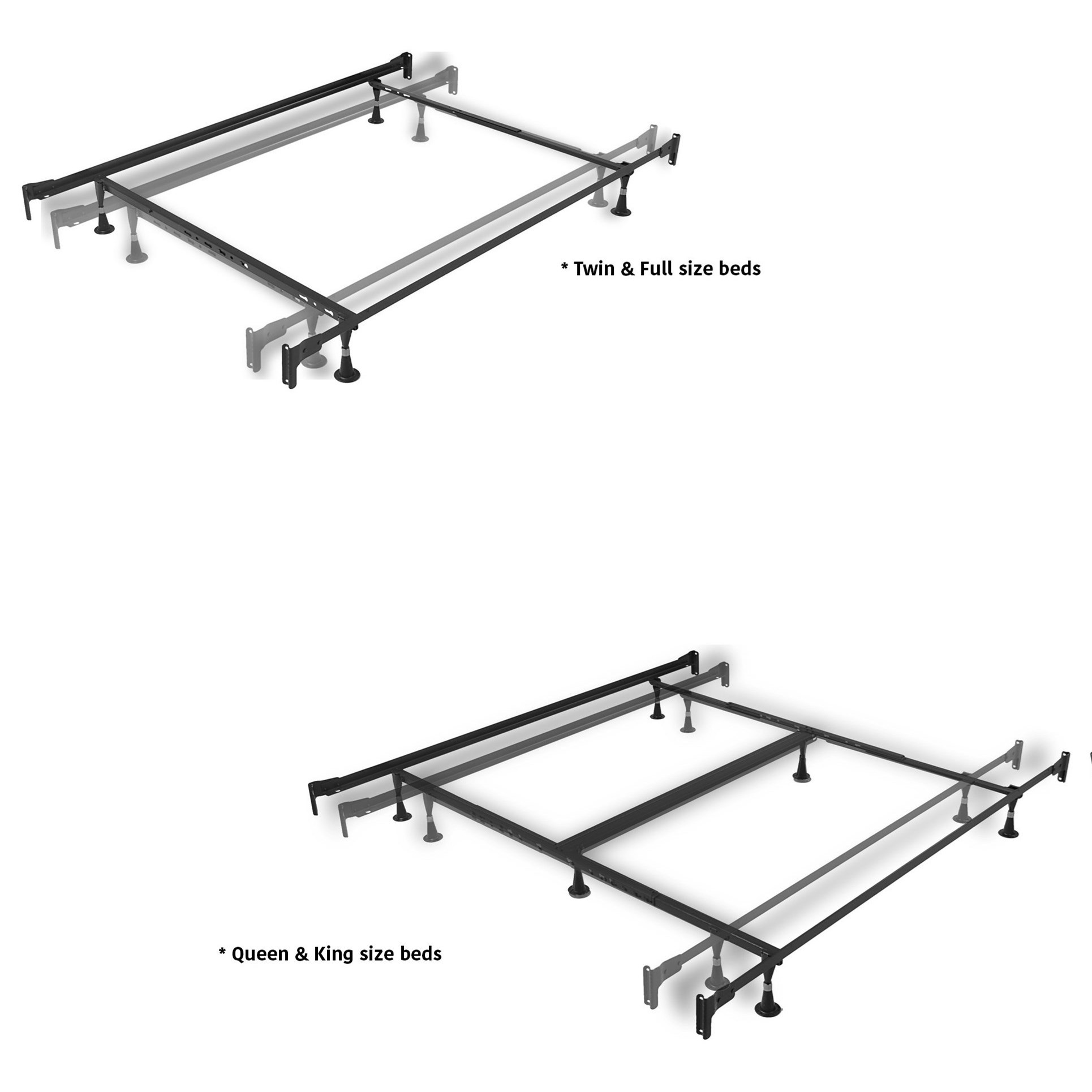 Fashion Bed Group Metal Beds Queen Lucinda Bed W Frame