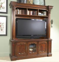 Antebellum Entertainment Center Cabinet with Several ...