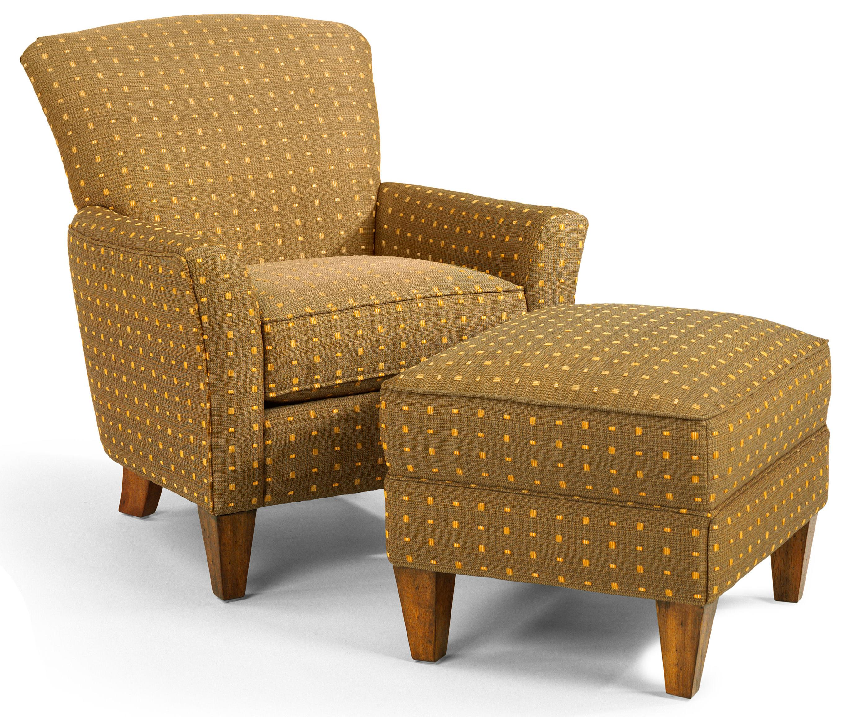 Chairs With Ottoman Accents Dancer Chair Ottoman Set By Flexsteel At Dunk Bright Furniture