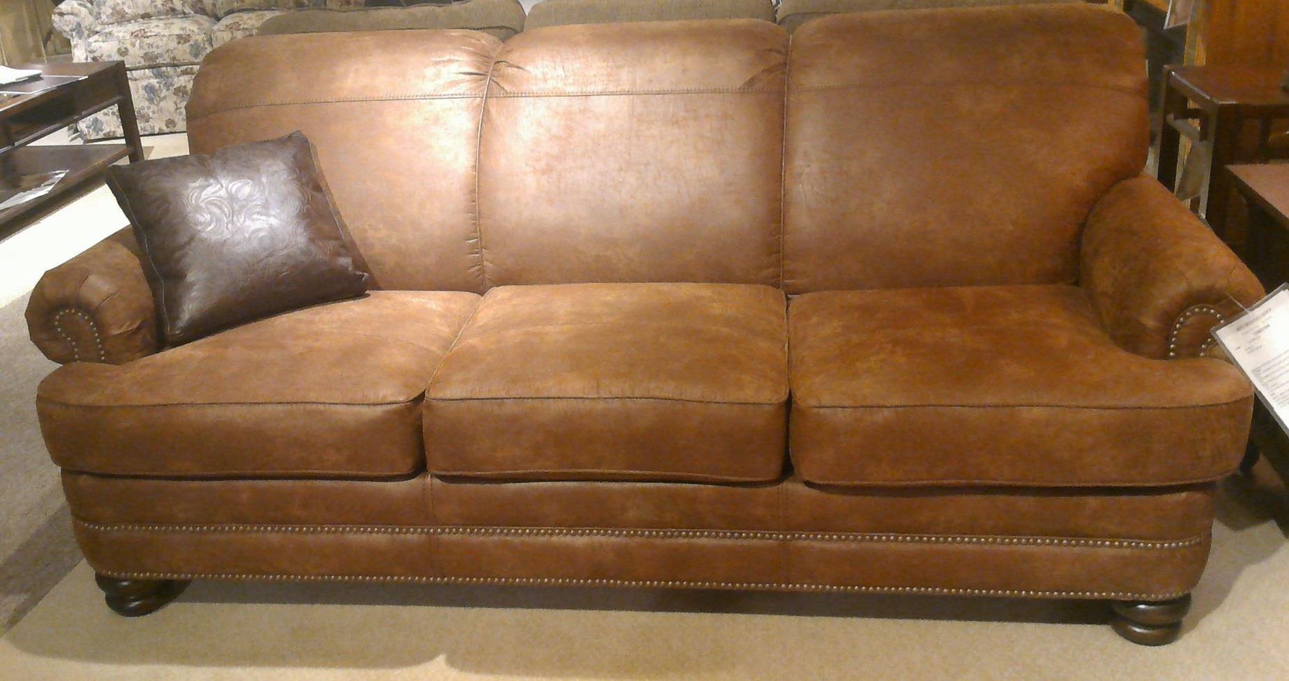 bay sofa overstuffed sofas canada flexsteel bridge n7791 31 traditional rolled back dunk