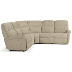 Justin Ii Fabric Reclining Sectional Sofa Sofas Canada Brick Colder S Furniture And Appliance 5 Piece Power