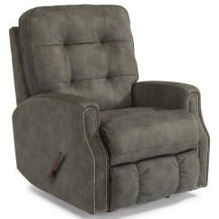 Swivel Chair Jargon Desk Yellow Flexsteel Devon 2881-53 Button Tufted Glider Recliner With Nailheads | Hudson's Furniture ...