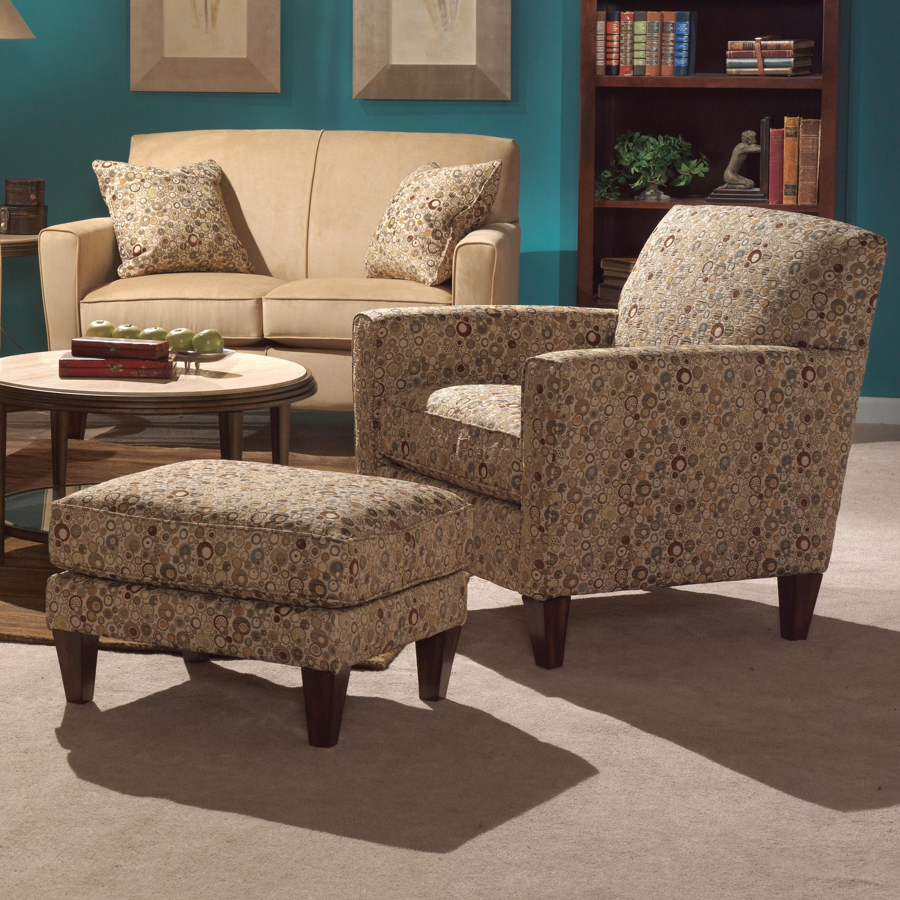 Chair And Ottoman Set Digby Chair And Ottoman Set By Flexsteel At Hudson S Furniture