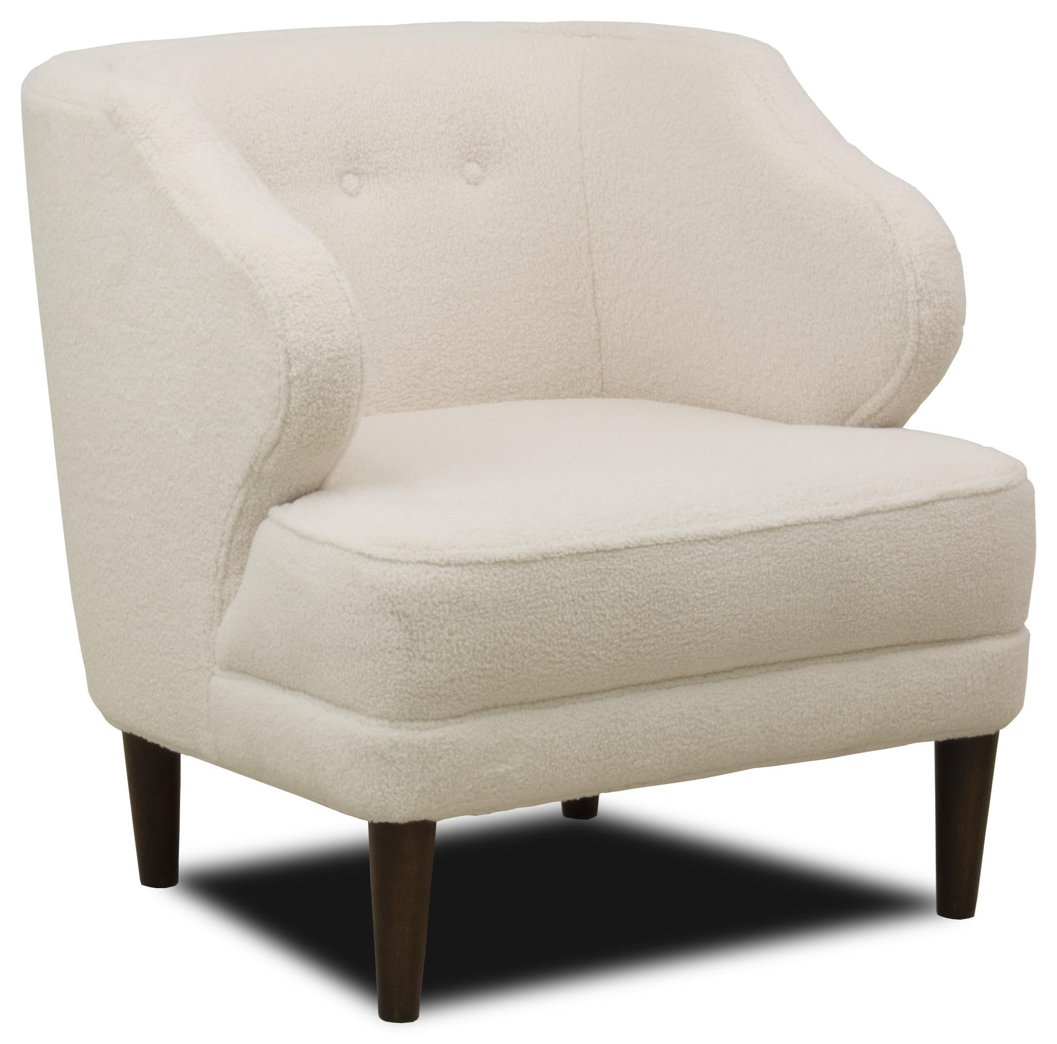 Modern Wing Chair Etta Mid Century Modern Wing Chair With Button Tufting By Flexsteel At Ruby Gordon Home
