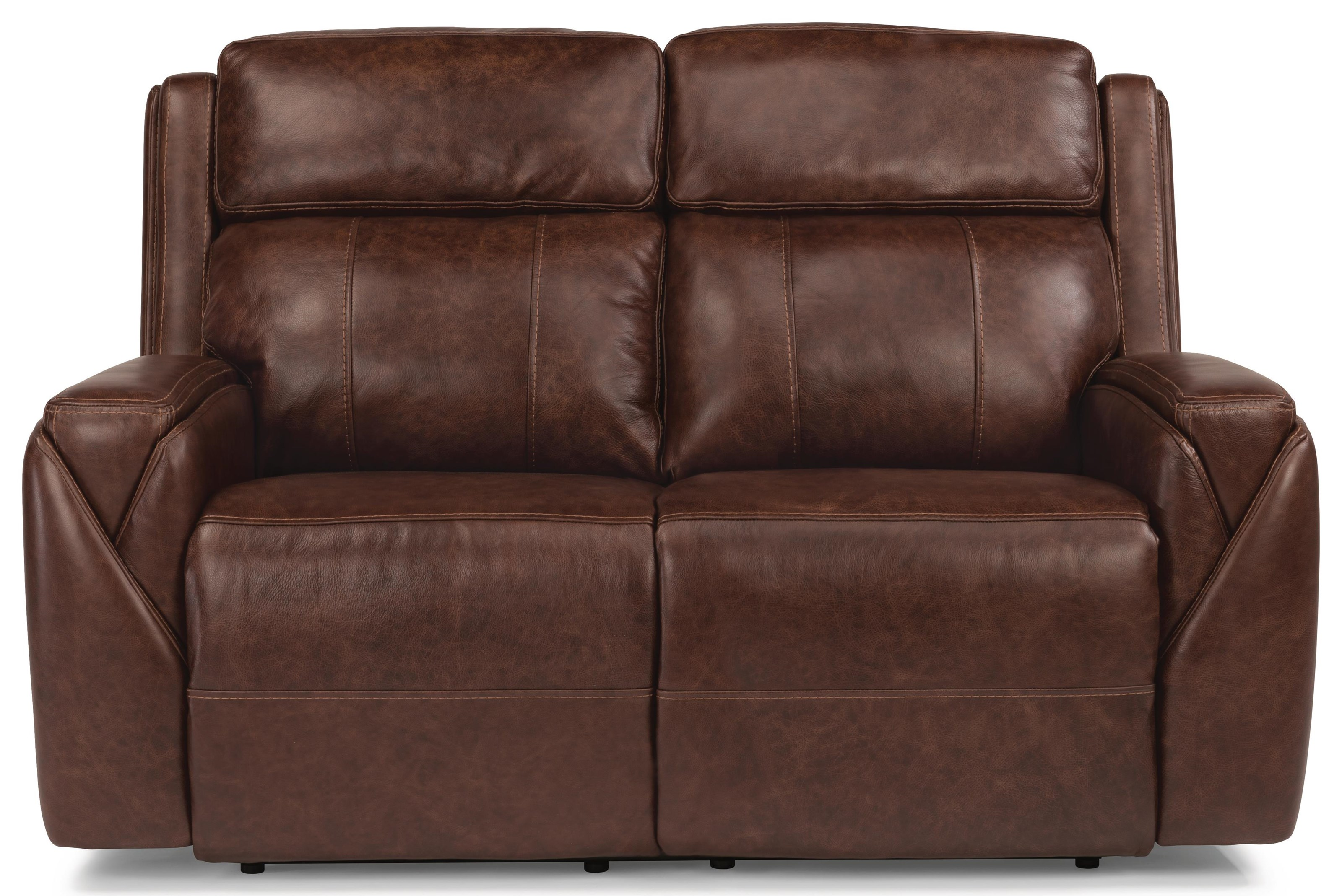 flexsteel double reclining sofa reviews leather tufted set laudes miller ...