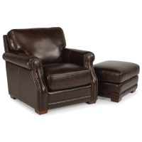 Flexsteel Latitudes-Chandler Transitional Chair and ...