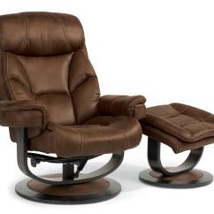 Palliser Chair And Ottoman Silk Upholstered Flexsteel Latitudes-west 1452-co Modern Zero-gravity Reclining Set | Dunk ...