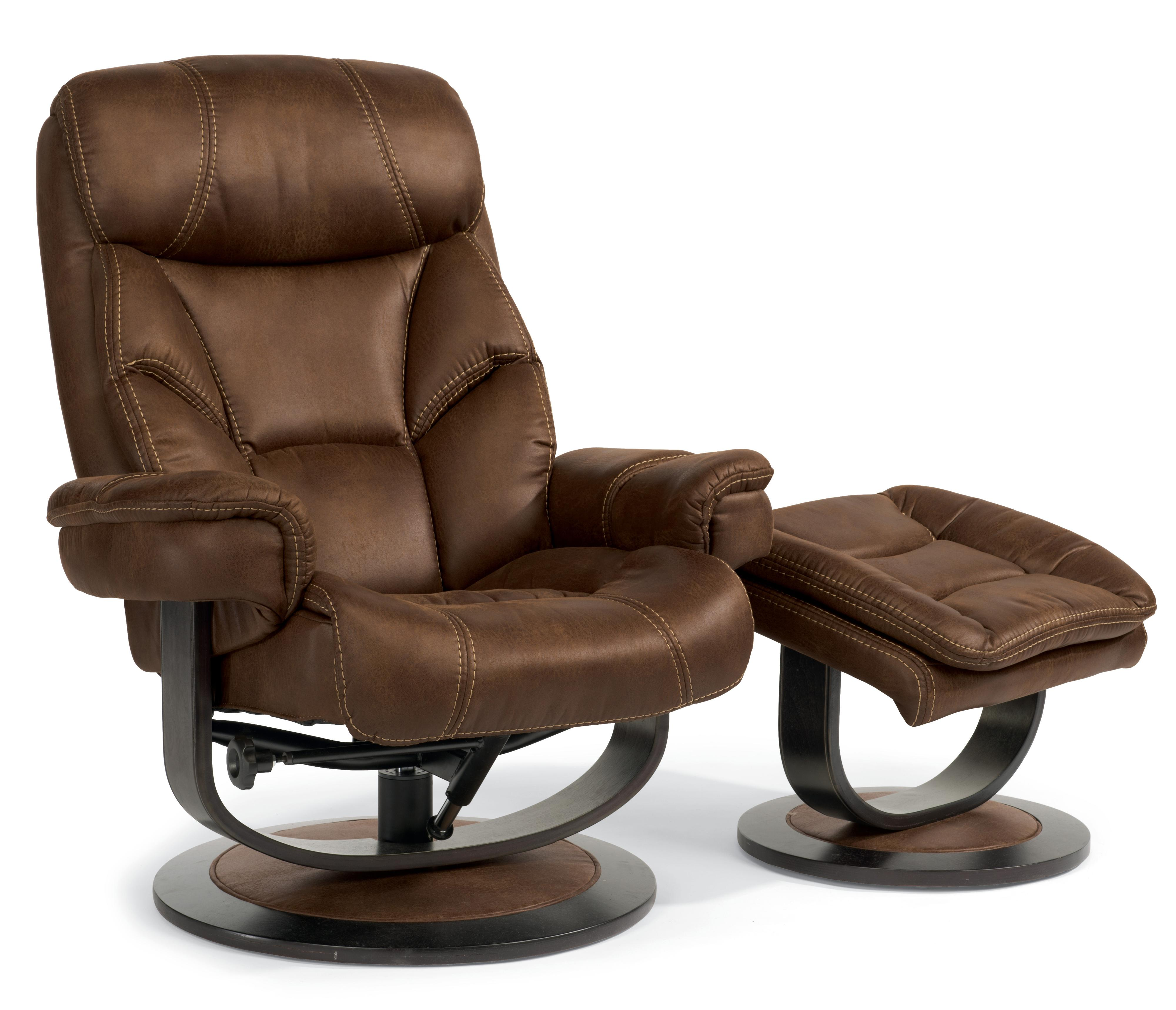 Modern Recliner Chair Latitudes West Modern Zero Gravity Reclining Chair And Ottoman Set By Flexsteel At Fashion Furniture