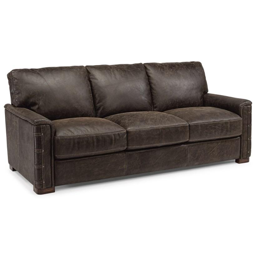 Flex Steel Leather Sofa Www Energywarden Net