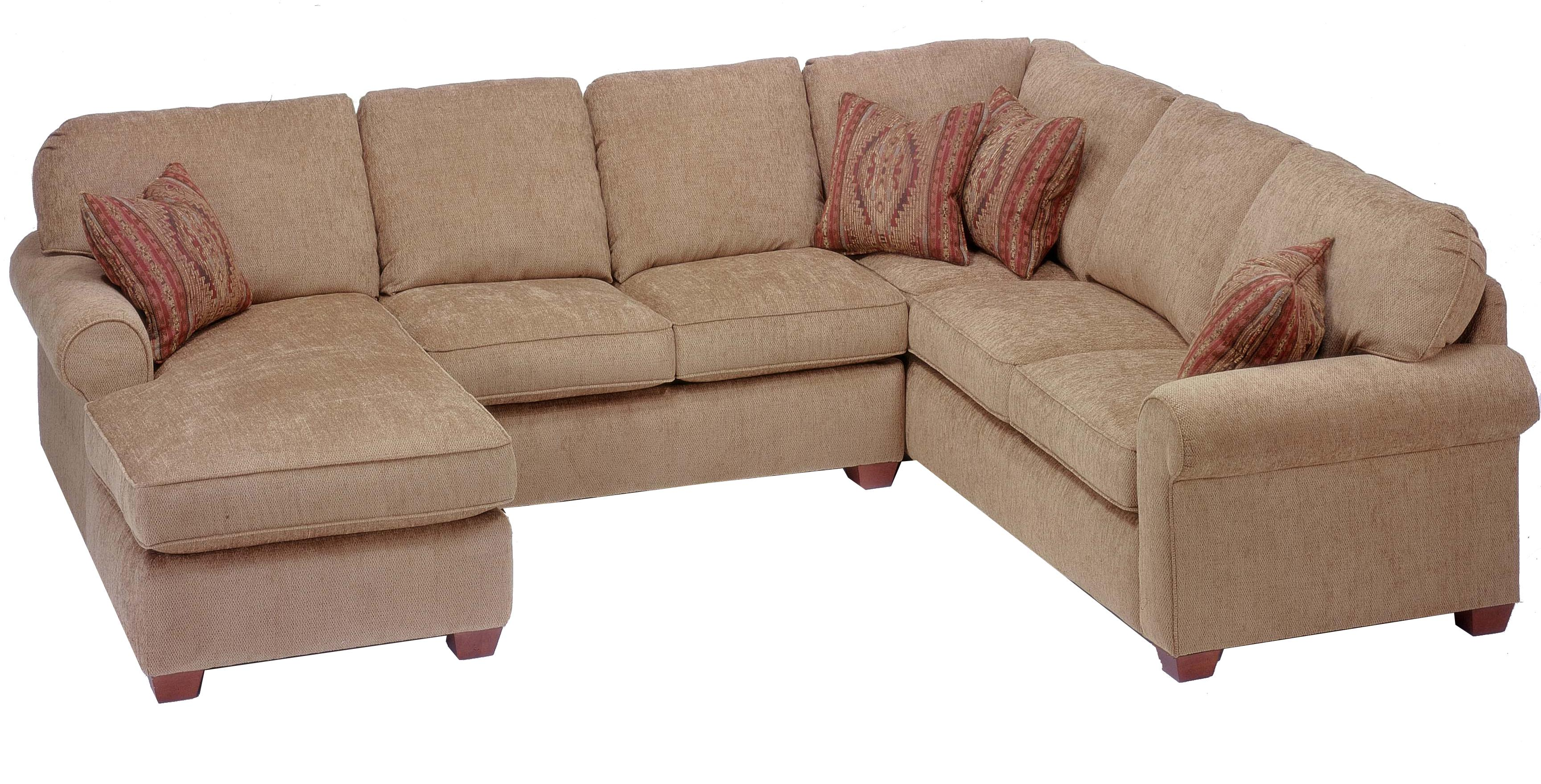 broyhill sofa prices how to stop puppy getting on flexsteel thornton 3 piece sectional with chaise | conlin ...