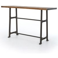 Four Hands Hughes Alistair Pub Table with Distressed Top ...